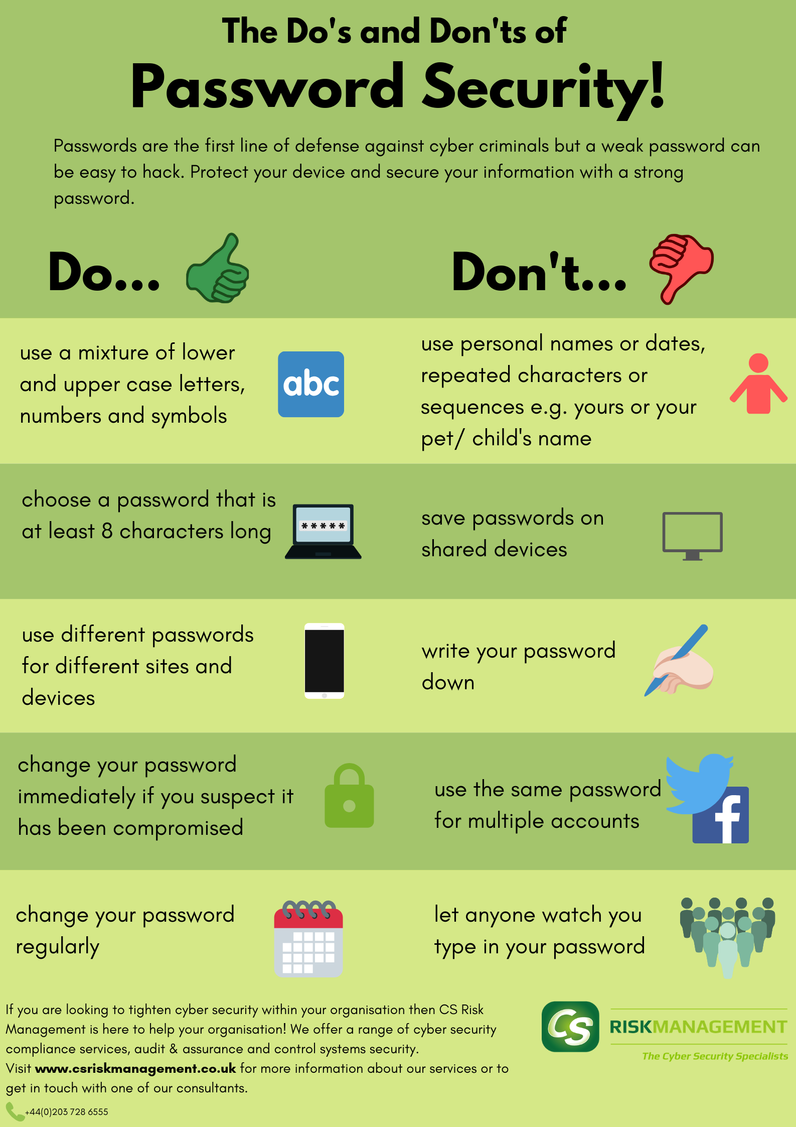 Password Security Poster